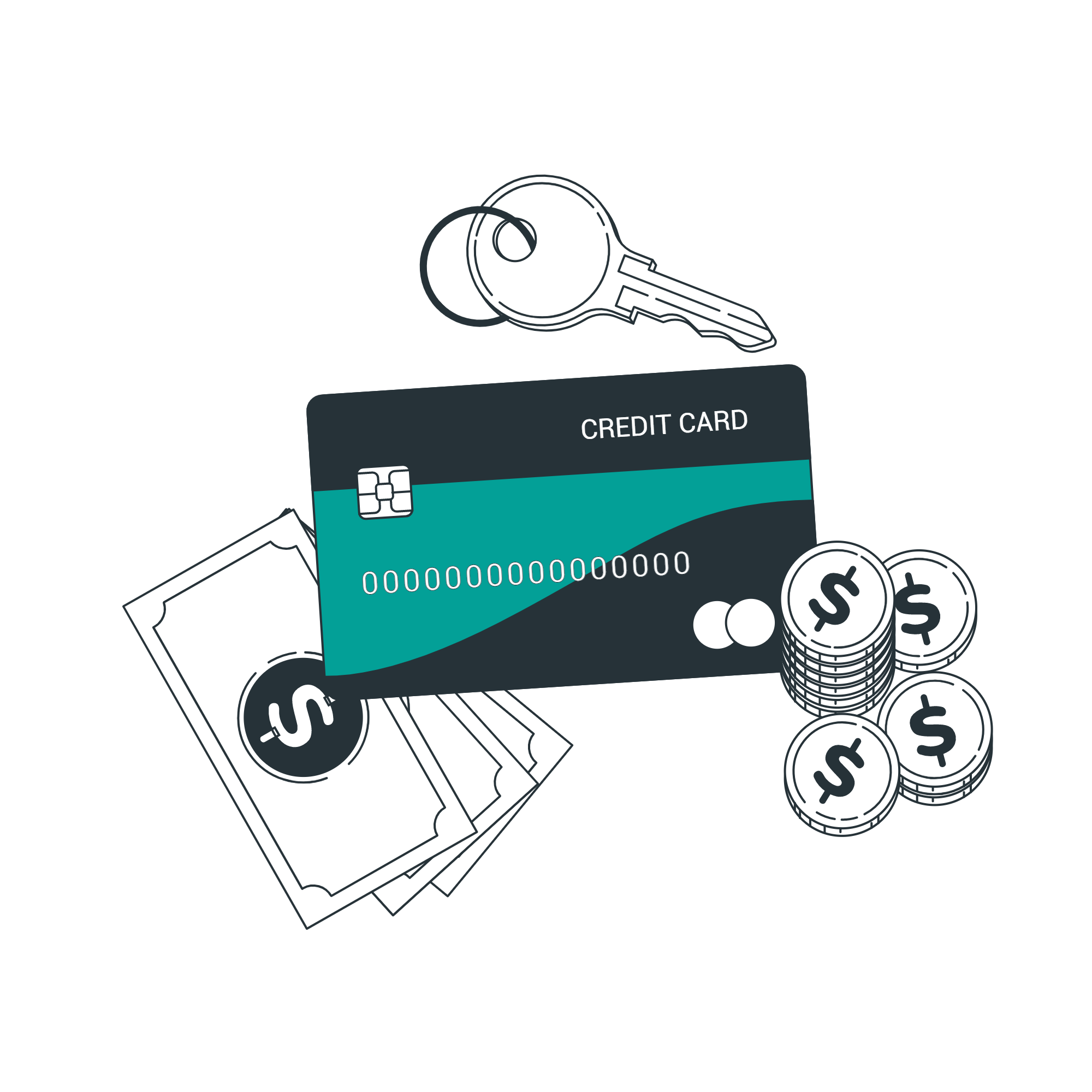 Credit card-bro